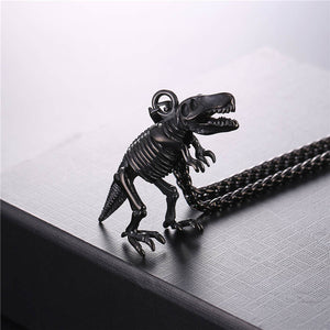 T-Rex Fossil Necklace - Dinosaur Themed Gifts & Accessories