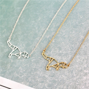 T- Rex Minimalist Necklace - Dinosaur Themed Gifts & Accessories