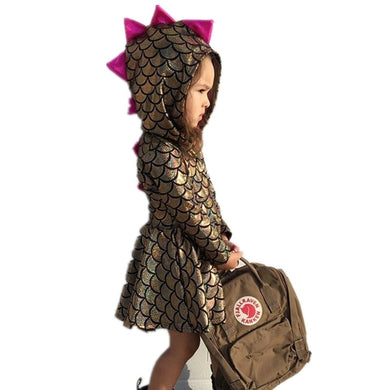 Cute Spiked Dinosaur Dress - Dinosaur Themed Gifts & Accessories