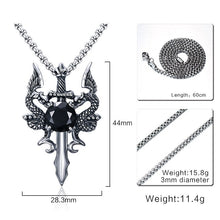 Medieval Dragon Necklace - Dinosaur Themed Gifts & Accessories