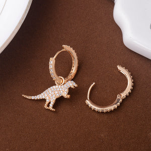 Prehistoric Glamour Earrings - Dinosaur Themed Gifts & Accessories