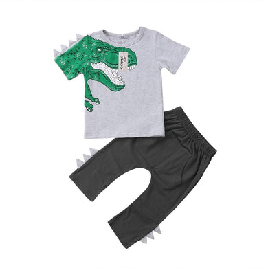 T-Rex Spiked Shirt and Pants Set - Dinosaur Themed Gifts & Accessories