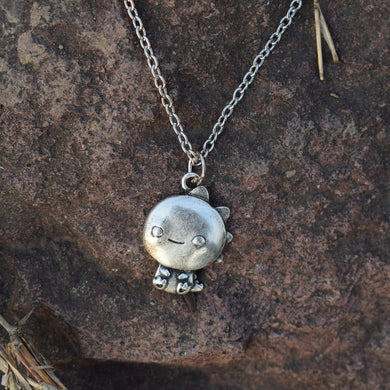 The Cute Little Dinosaur Necklace - Dinosaur Themed Gifts & Accessories