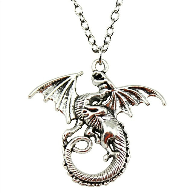 Shivering Dragon Necklace - Dinosaur Themed Gifts & Accessories