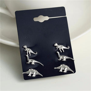 Cute Jurassic Earrings Pack - DinoGoods