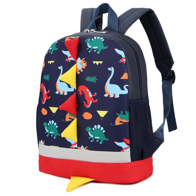 Dinosaur Friends Backpack for Kindergarteners - Dinosaur Themed Gifts & Accessories