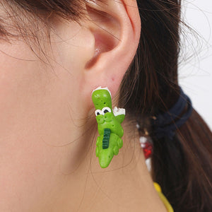Crocodile Stud Earrings - Dinosaur Gifts & Accessories
