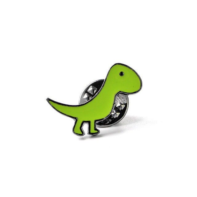 Cute Dinosaur Pins (Set of 5) - DinoGoods