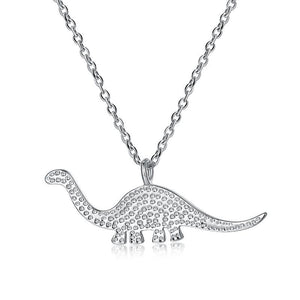 Gentle Giant Brachiosaurus Necklace - Dinosaur Gifts & Accessories