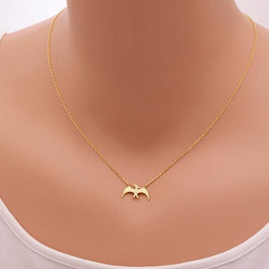 Flying Menace Pterodactyl Necklace - Dinosaur Themed Gifts & Accessories