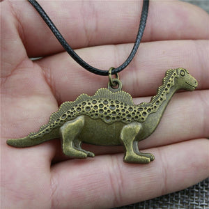 Reptilian Green Necklace - Dinosaur Themed Gifts & Accessories