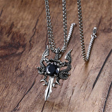 Medieval Dragon Necklace - Dinosaur Gifts & Accessories