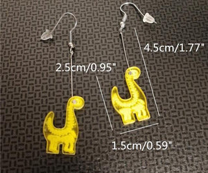 Jurassic Joy Earrings - Dinosaur Themed Gifts & Accessories