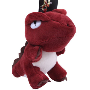 Annoyed Dino Plush Keychain - Dinosaur Gifts & Accessories