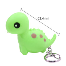 Cute Light Up Dinosaur Keychain - Dinosaur Gifts & Accessories