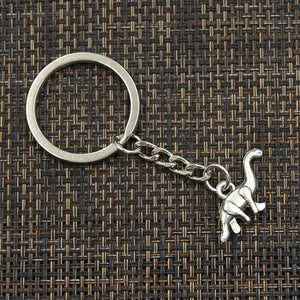 Brachiosaurus Dinosaur Keychain - Dinosaur Themed Gifts & Accessories
