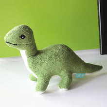 Green Long Neck Brontosaurus Dinosaur Plush Toy - Dinosaur Gifts & Accessories