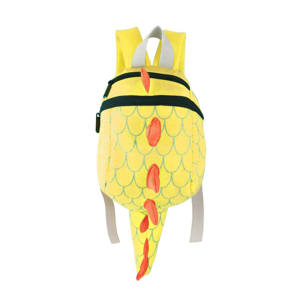 Cute Dinosaur Children Boys Backpack With Tail - DinoGoods