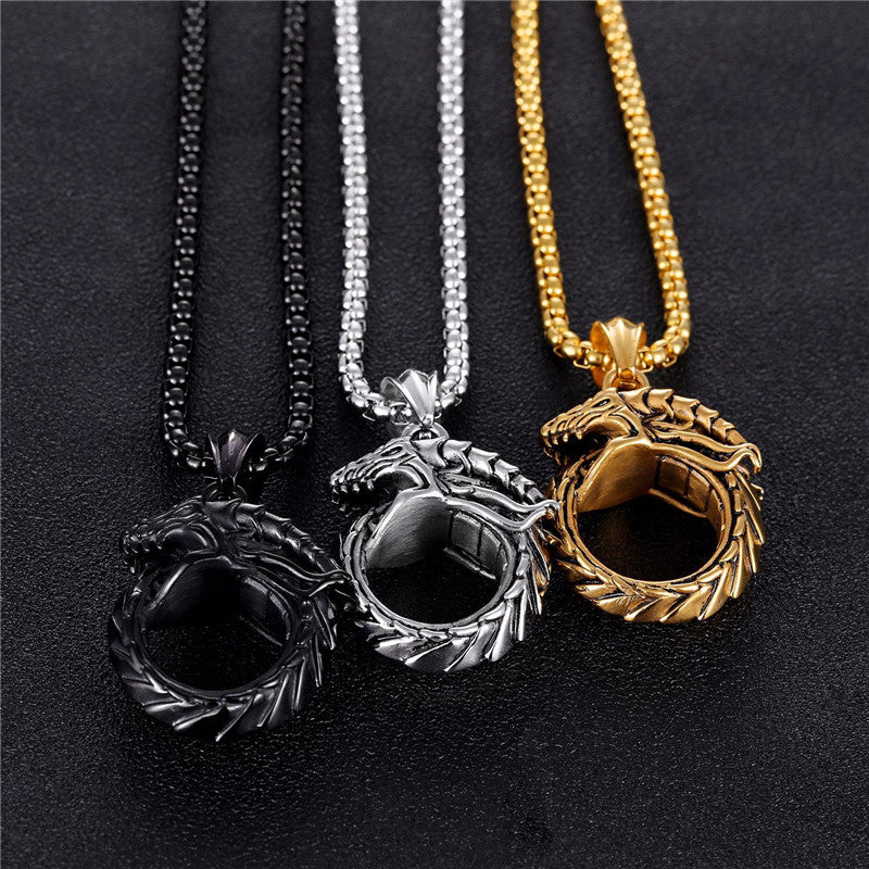 Raging Dragon Necklace - DinoGoods