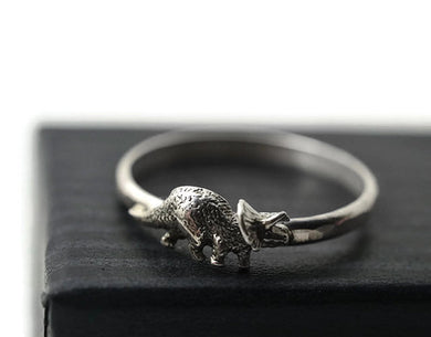 Triceratops Ring - Dinosaur Themed Gifts & Accessories