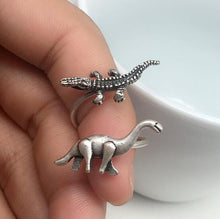 Old and New Brachiosaurus Ring - Dinosaur Gifts & Accessories