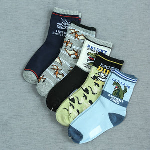 Ancient Dino Childrens Socks - 10 pairs - Dinosaur Themed Gifts & Accessories