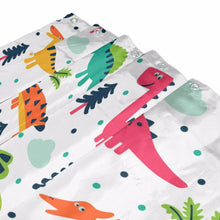 Silly Decorative Cartoon Dinosaurs Shower Curtains - Dinosaur Themed Gifts & Accessories