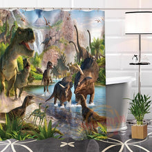Jurassic Life Shower Curtains - Dinosaur Themed Gifts & Accessories