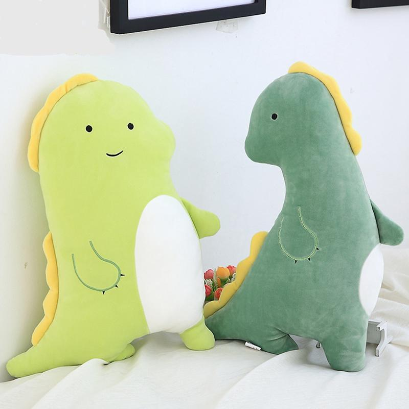 Cute Cartoon Dinosaur Plush Pillow