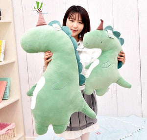 Partying Dinosaur Plush Doll