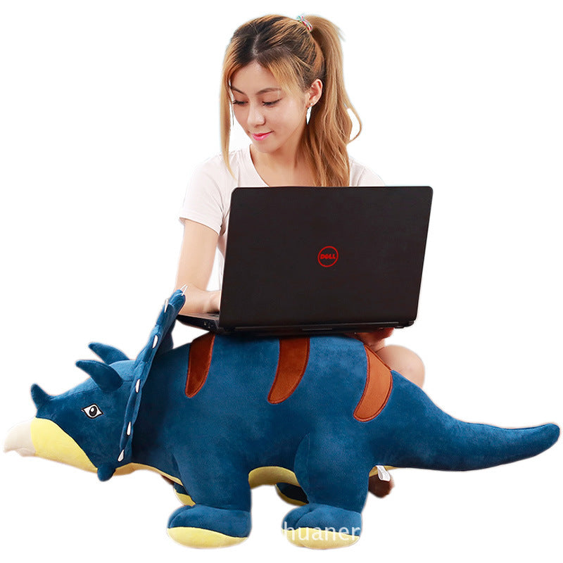 Large Cute Triceratops Plush Doll - DinoGoods