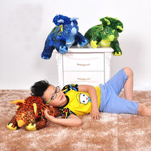 Triceratops Cute Plush Dinosaur Doll - Dinosaur Themed Gifts & Accessories