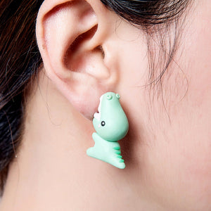 Cute Dinosaur Stud Earrings - Dinosaur Themed Gifts & Accessories