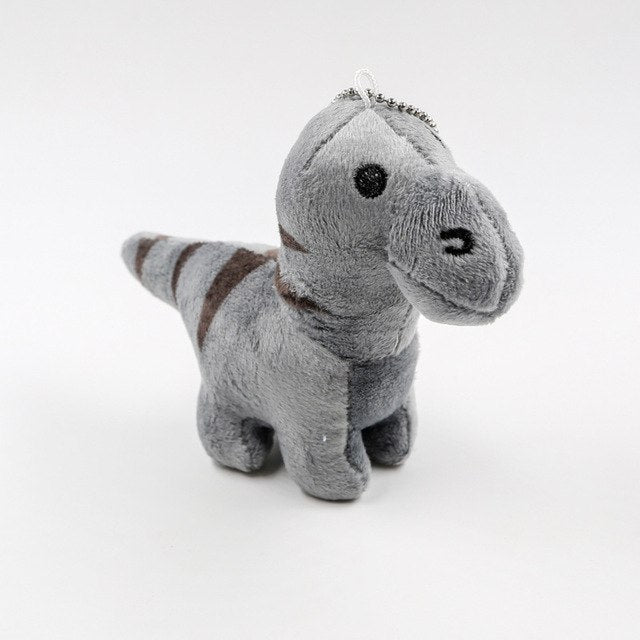 Goofy Dinosaur Plush Toy Keychain - Dinosaur Themed Gifts & Accessories