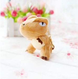 Annoyed Cute Dinosaur Plush Toy Keychains - Dinosaur Themed Gifts & Accessories