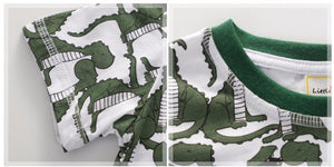 Roaring Green Dinosaur Outfit - Dinosaur Themed Gifts & Accessories