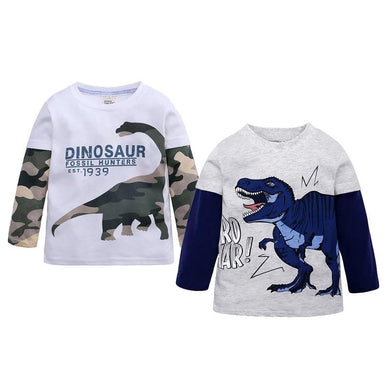 Fossil Hunter Toddler Long Sleeve Shirt