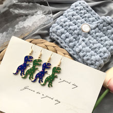 T-Rex Dangling Earrings