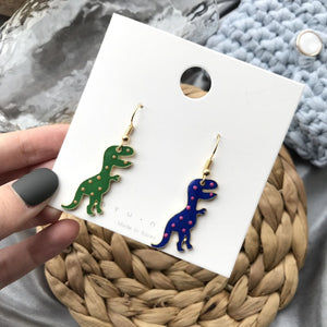 T-Rex Dangling Earrings - DinoGoods