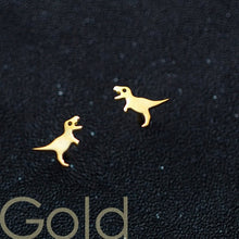 Variety Small Dinosaur Stud Earrings