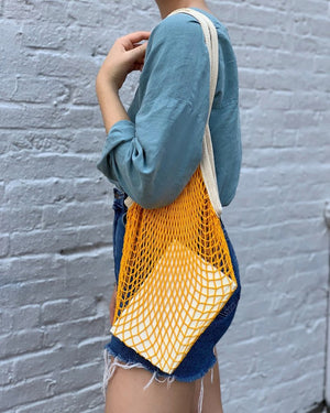 French Market Tote - Goldenrod