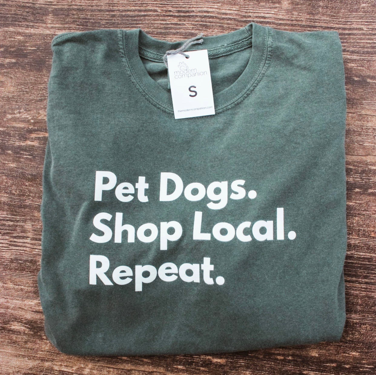 Pet Dogs. Shop Local. Repeat.