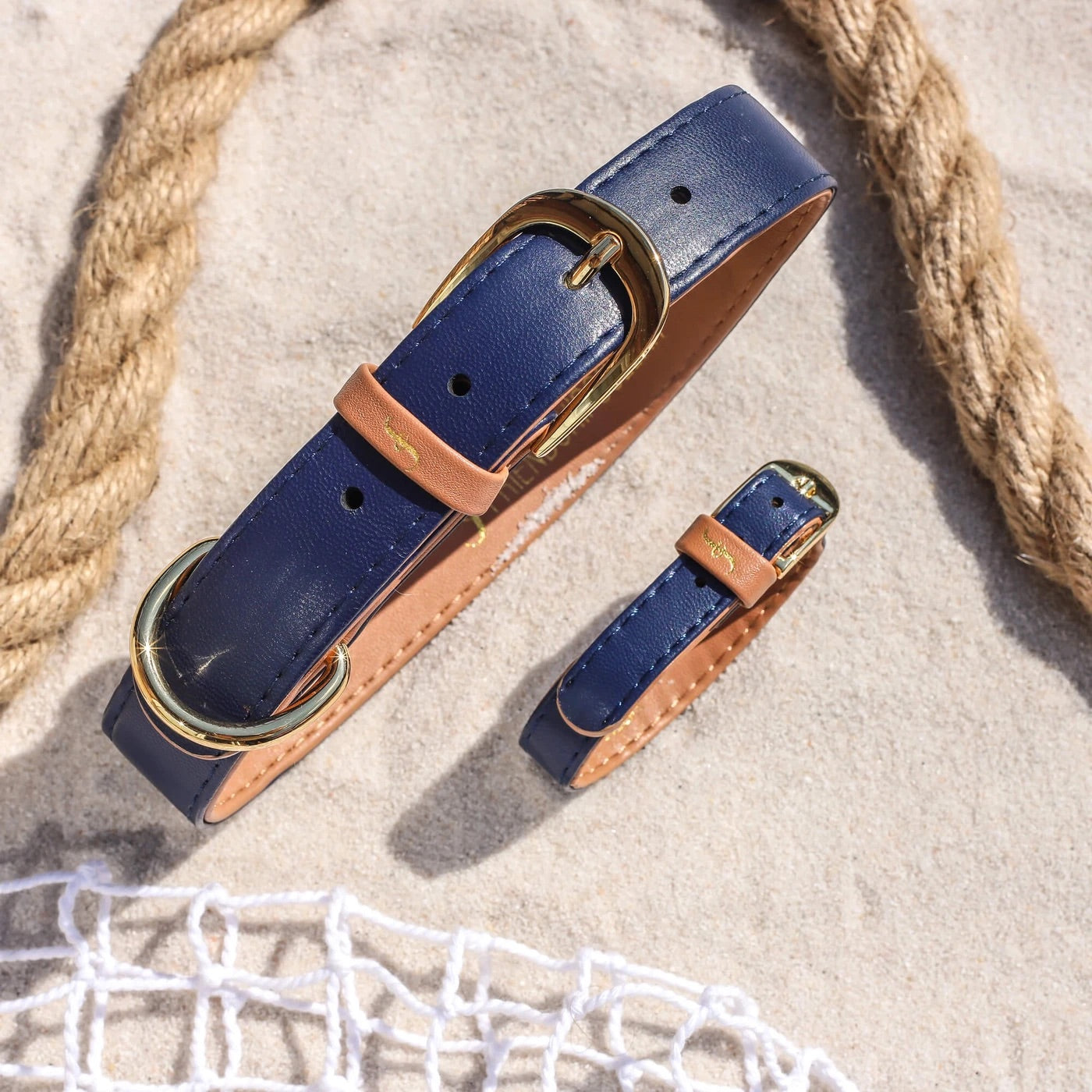 Friendship Collar - Classic Pup Monaco Blue