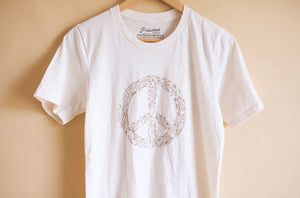 Open image in slideshow, Floral Peace Tee