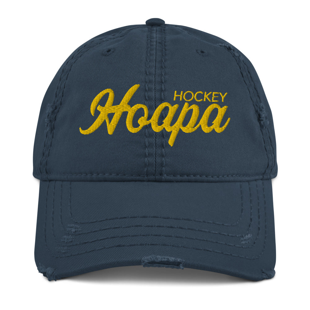 Hoapa Hockey Distressed Dad Hat