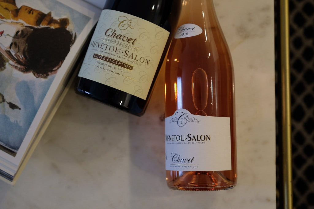 Discover Domaine Chavet Menetou Salon Rosé Tradition 2018 online at PENTICTON