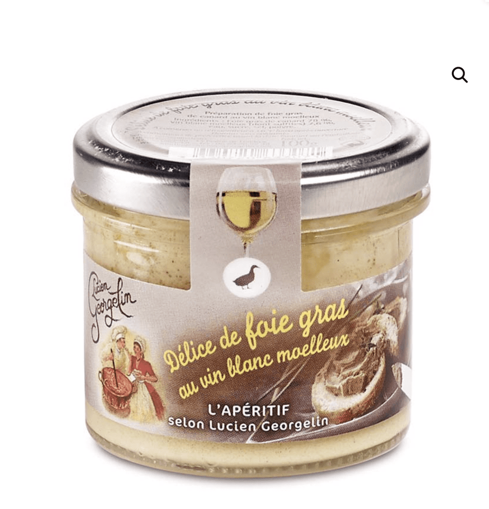 Discover PENTICTON Lucien Georgelin Duck Foie Gras Preparation with Sweet Wine online at PENTICTON
