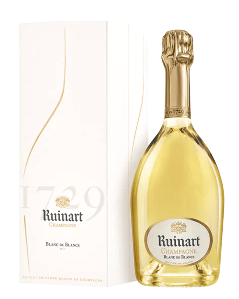 Discover Ruinart Champagne Ruinart Blanc de Blancs NV online at PENTICTON