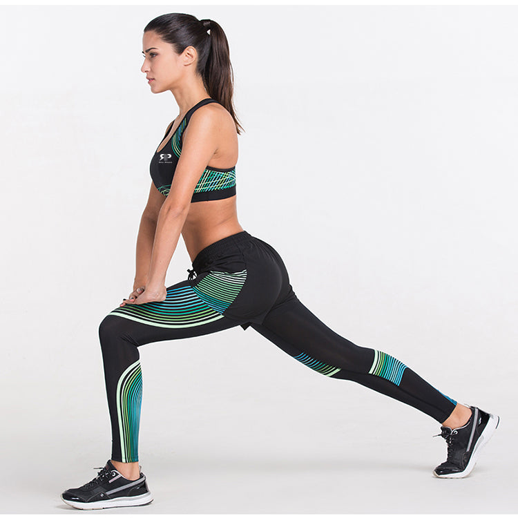 Olivia Active Set - Legging, T-shirt, Sport Bra, Shorts & Sport Jacket