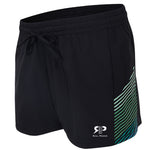 Olivia Active Running Shorts - Black/Green